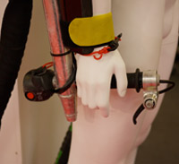 Flyboard hand controls