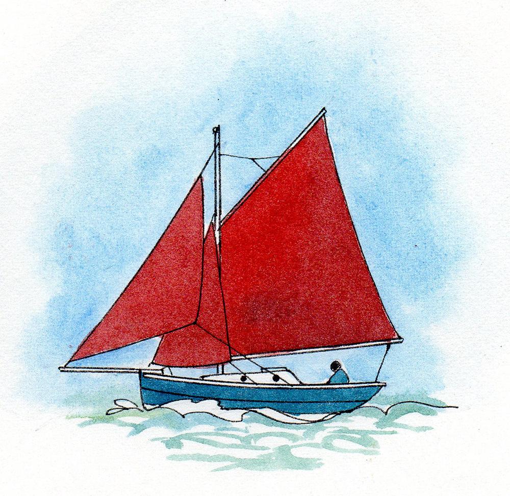 Gaff righ - illustration Claudia Myatt