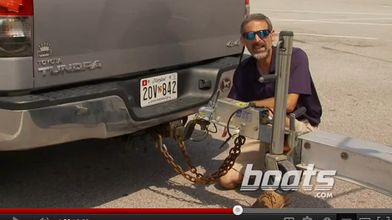 Watch our How to Safely Hitch a Boat Trailer video, and see how it's done first-hand.
