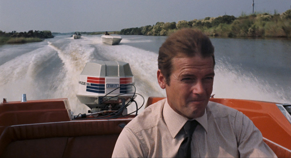 James Bond at the helm