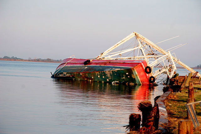 Docking drama - always prepare for the worst