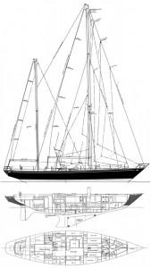 Swan 65 plan diagram