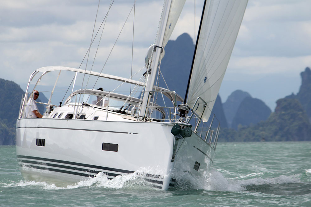 Xc 45 built for blue water