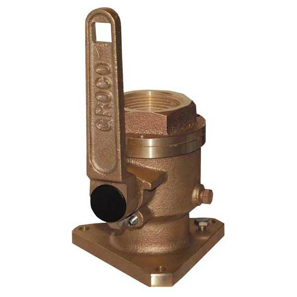 Bronze seacocks - vulnerable to galvanic corrosion