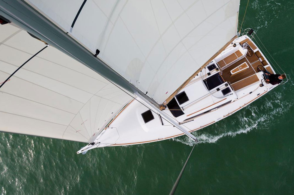 Masthead view: Dufour Grand Large 350