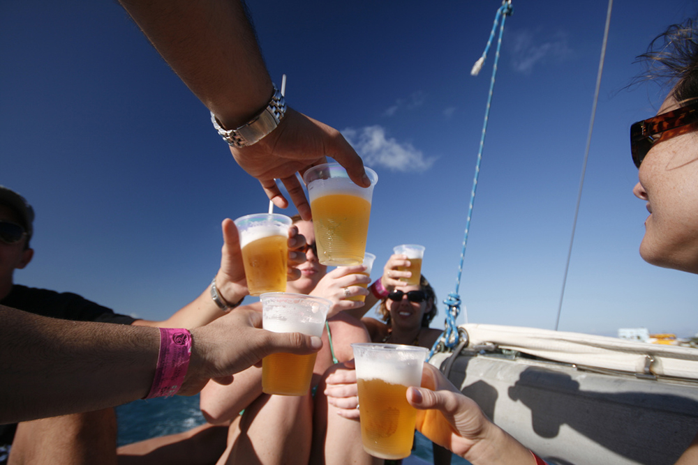 Boat drinks: limit alcohol intake