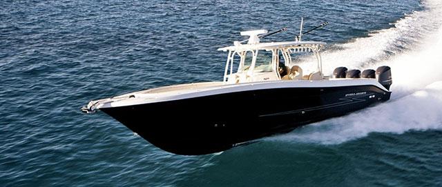 Fantasy fishing boat