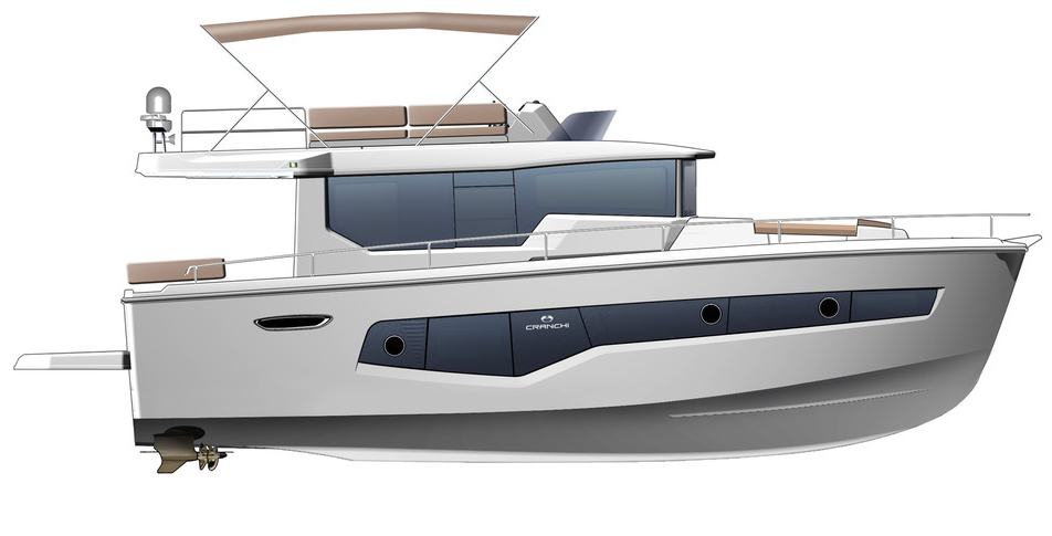 Cranchi 43 Eco Trawler: winner in the category up to 45 feet