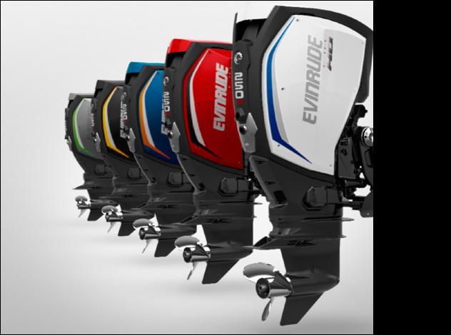 Evinrude E-Tec G2 2-stroke outboard engine: winner of  prize for innovation