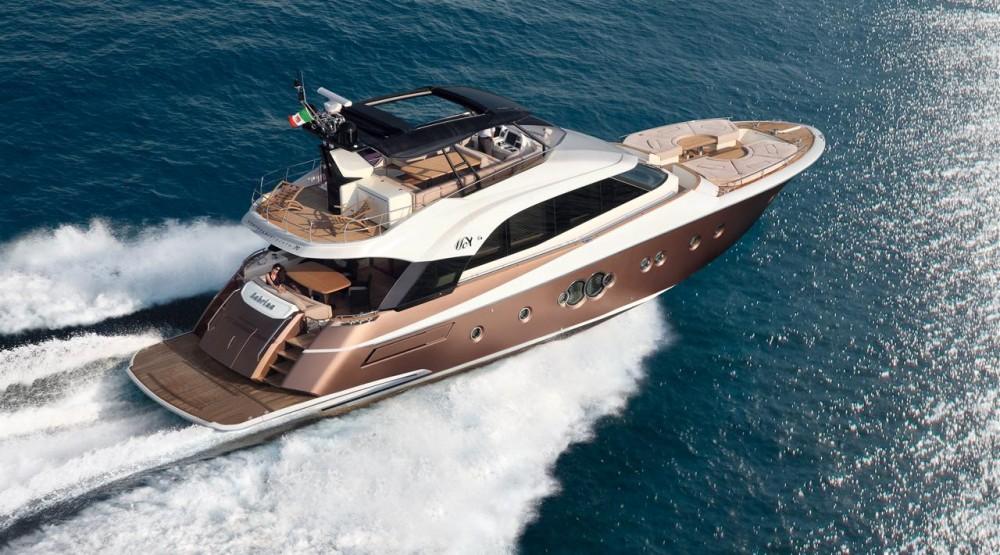 Monte Carlo Yacht 70 under power