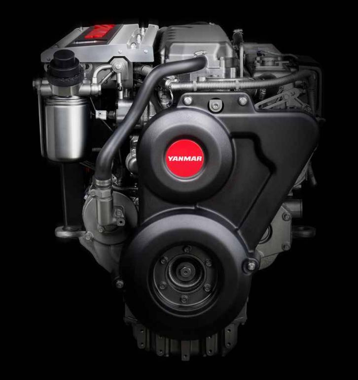 Yanmar 6LY 400/440 marine diesel