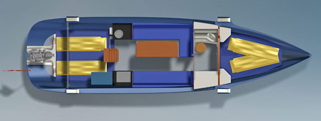 Dragonfly 32 interior rendering