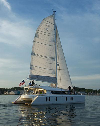 Isara 50 sailing