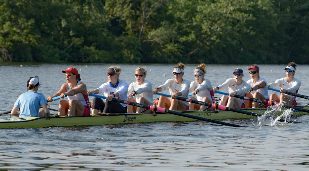 Olympic rowing: US Women's 8