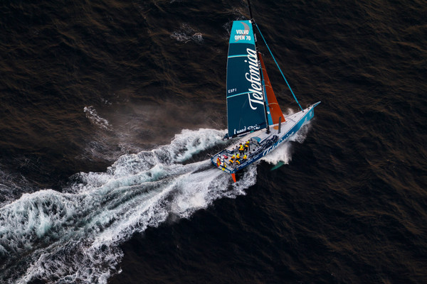 Telefonica wins Leg 1 of The Volvo Ocean Race