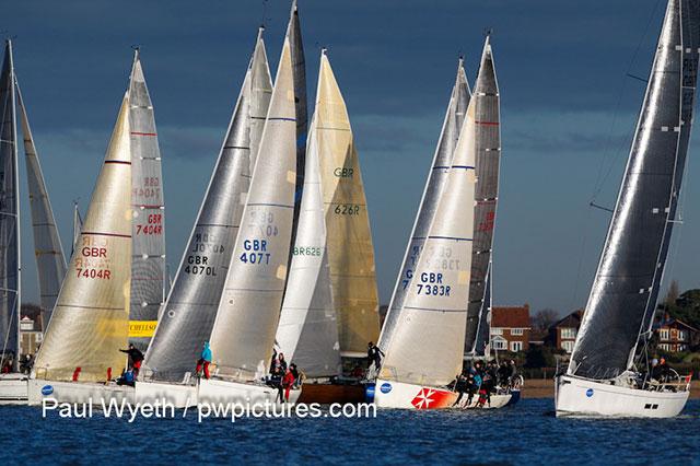 2012 Garmin Hamble Winter Series finale