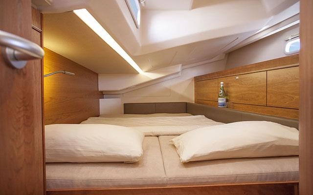 Hanse 505: Interior