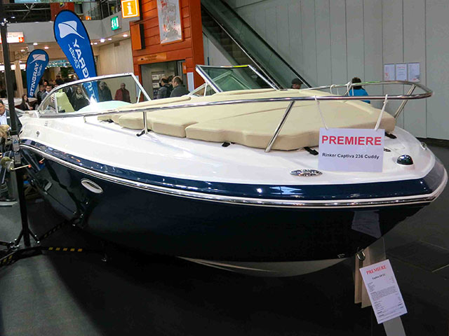 Rinker Captiva 236 CC review: design delights