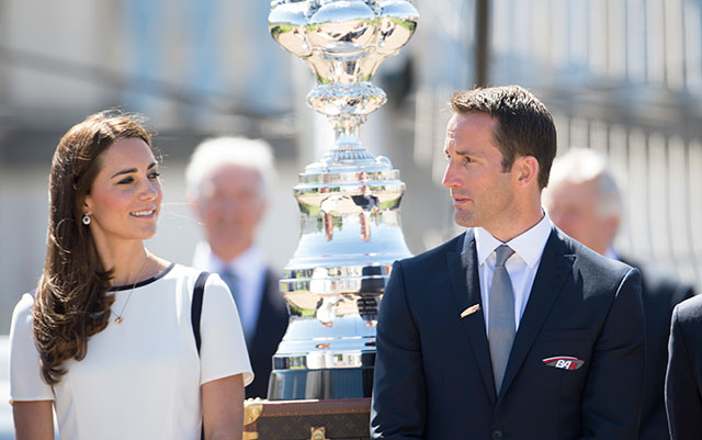 Ben Ainslie launches British America's Cup challenge