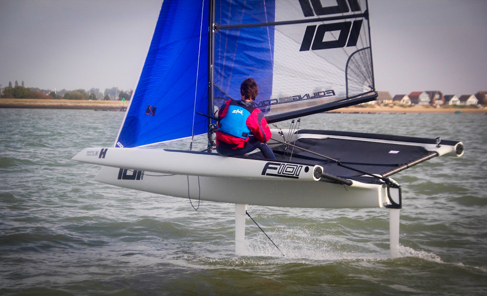 Foiling 101: new foiling triamaran launched