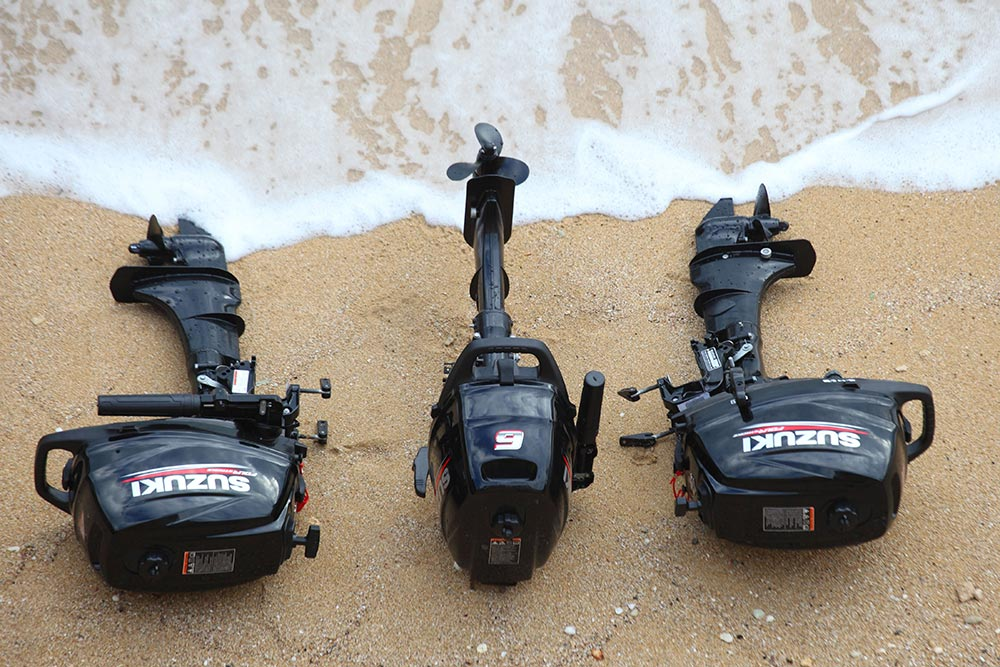 Suzuki launches new portable outboards
