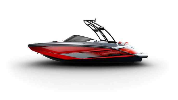 Scarab 215 jet boat: hot new flagship model