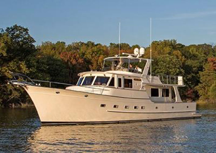 Fleming 58 review: long distance cruiser