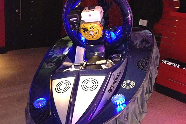 Flying Fish hovercraft heads for Harrods