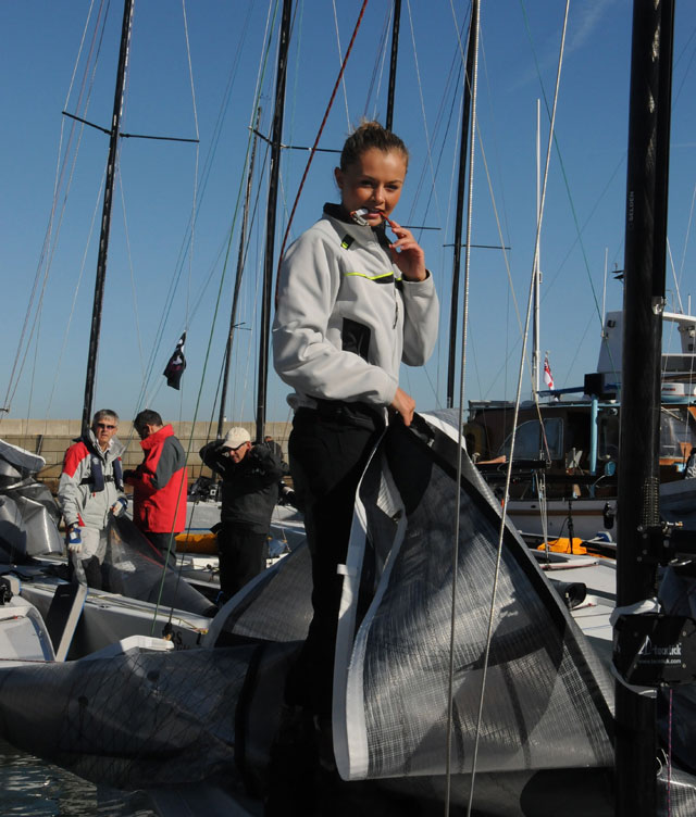 RS Elite glamour: Miss North of Ireland sails at National Championship