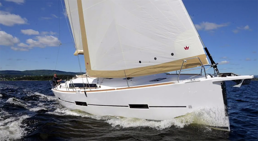 Dufour 412 Grand Large: First Look Video