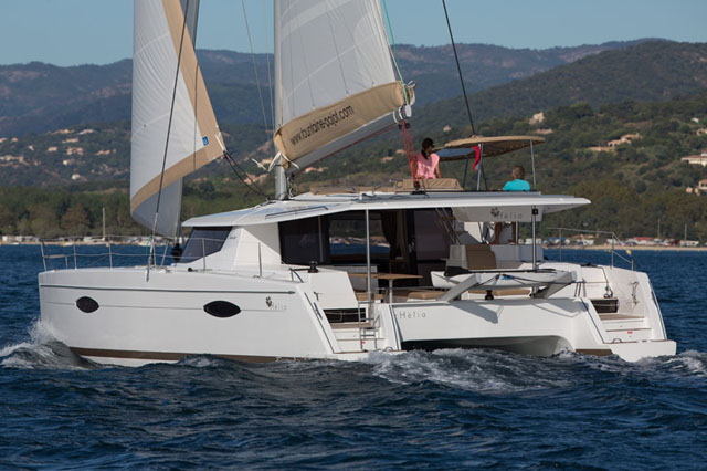Fountaine Pajot Helia 44 review: classy cat