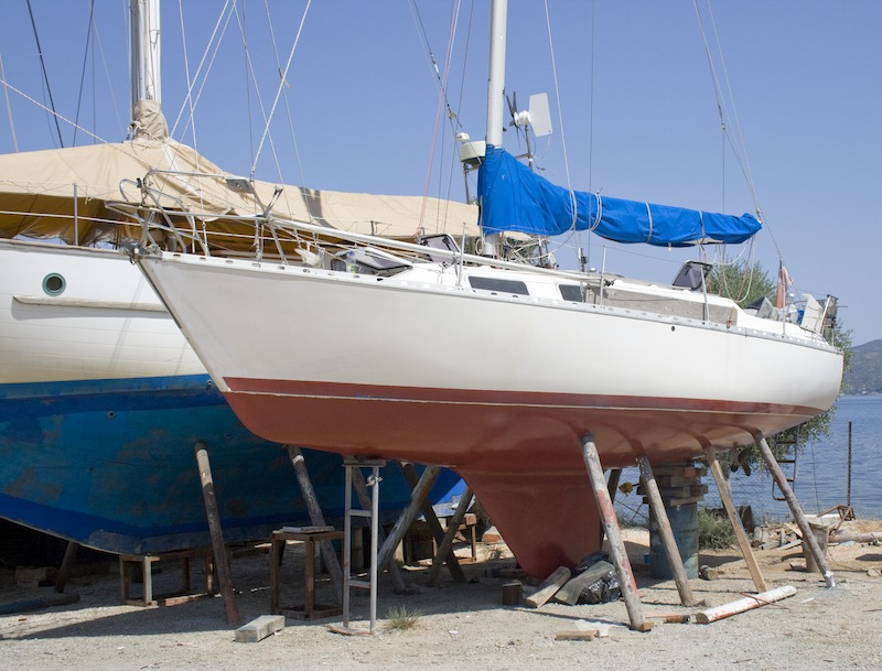 Choosing the right boatyard to work on your boat