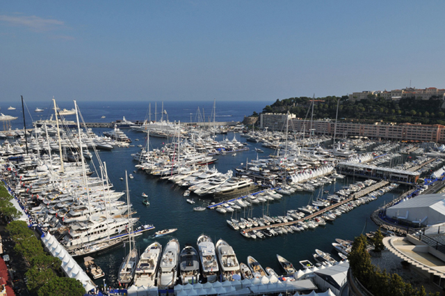 Eye candy from the Monaco Yacht Show
