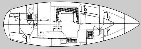Moody 39 layout