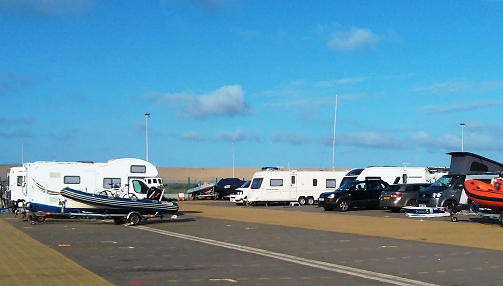 Motorhomes and campervans for sailors