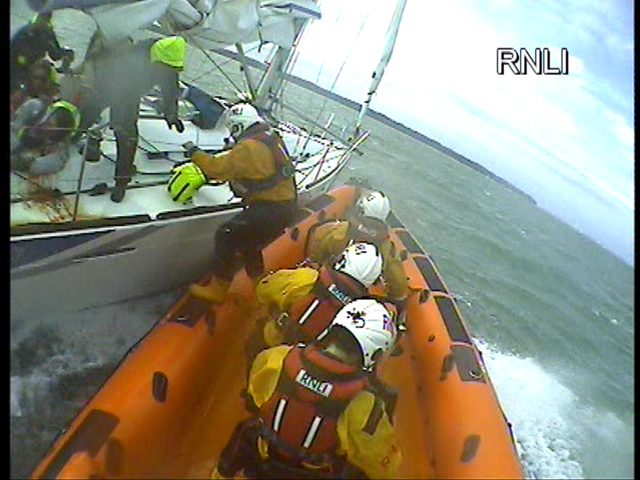 Fisherman and runaway boat rescued