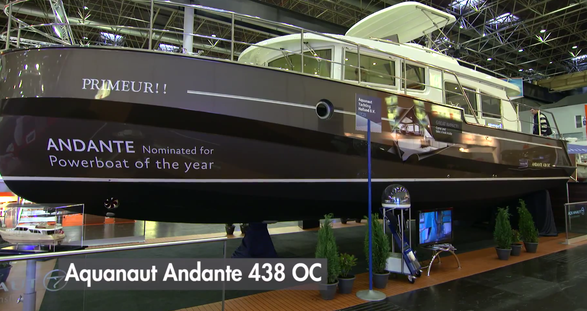 Aquanaut Andante 438 OC video: first look