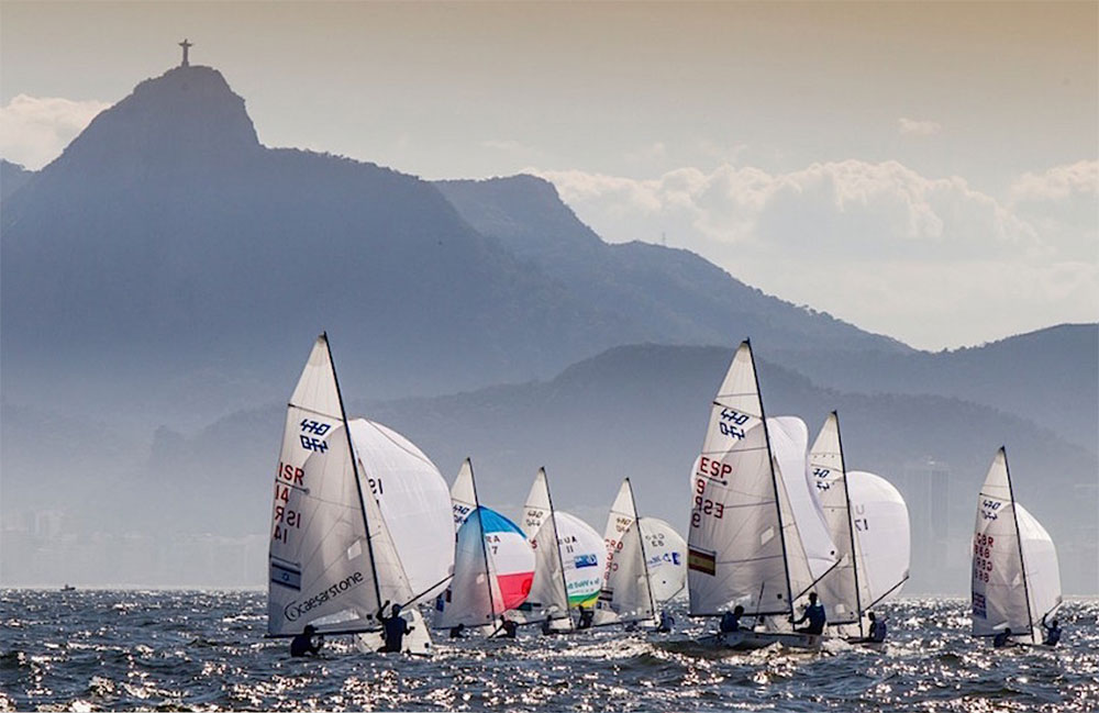 Sailing at the 2016 Rio Olympics