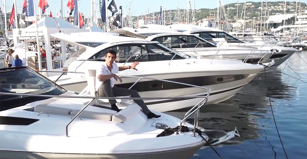 Jeanneau Leader 30: First Look Video