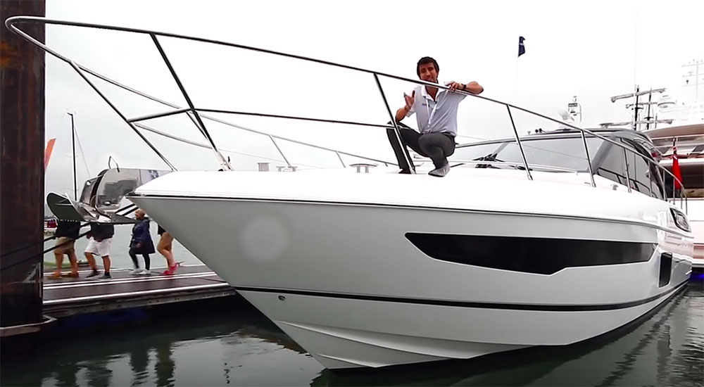 Princess V58 Deck Saloon: First Look Video