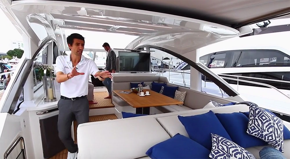 Fairline Targa 53 Open: First Look Video