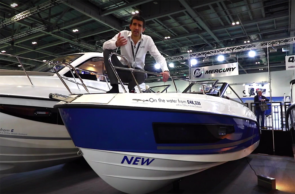 Quicksilver Activ 755 Cruiser: First Look Video
