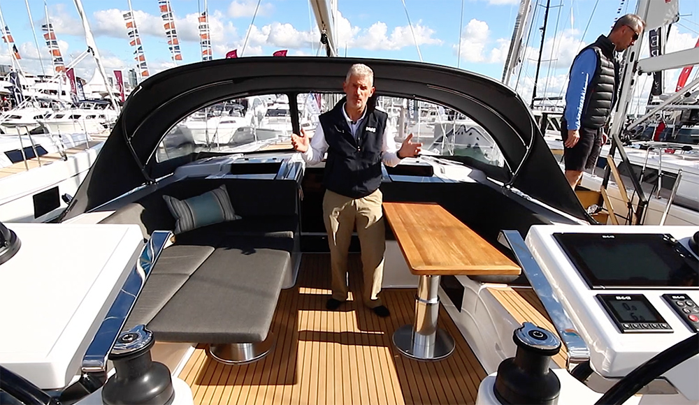 Hanse 548 First Look Video