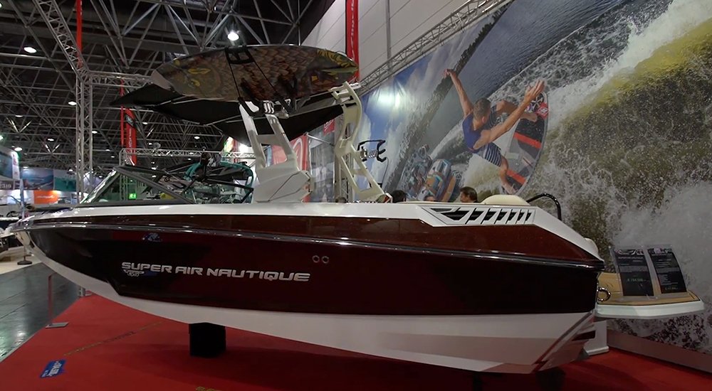 Super Air Nautique GS20: First Look Video