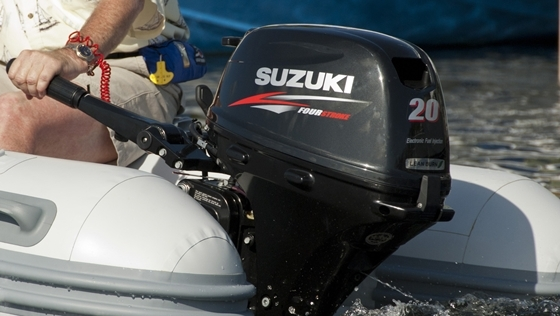 Suzuki brings electronic ignition to 20hp outboards