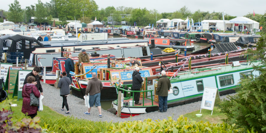 Crick Boat Show hits the spot