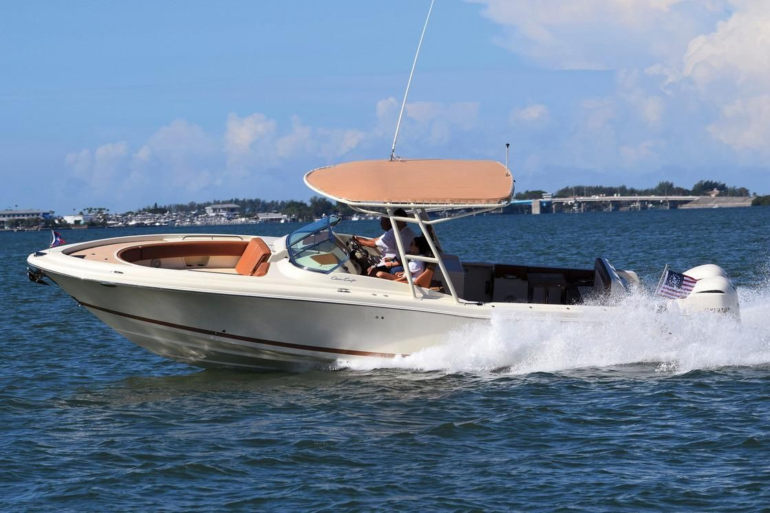 Chris Craft Calypso 30 European debut