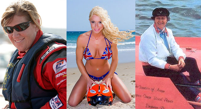 Five great powerboating women