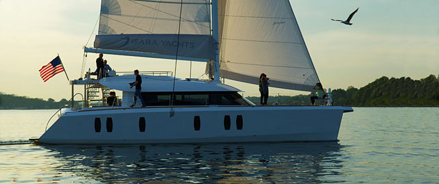 Isara 50: stylish cruising catamaran