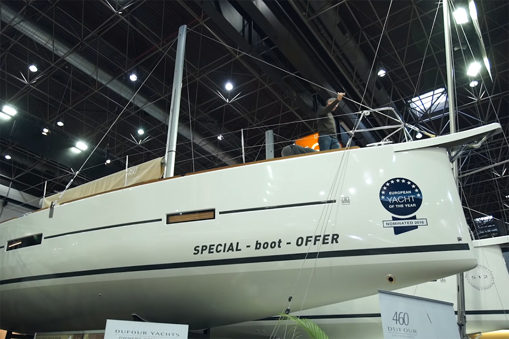 Dufour 460 GL: First Look Video